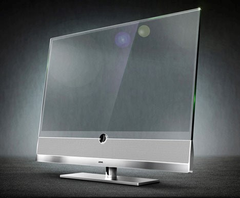 Transparent television: designed by Michael Friebe