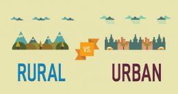 rural v urban