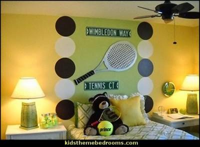 Tennis Theme Bedroom Decorating ideas-3