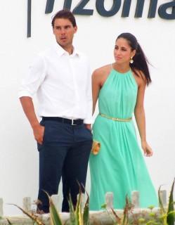 Semi-Exclusive... Rafael Nadal Attends A Wedding In Formentera - NO WEB USE