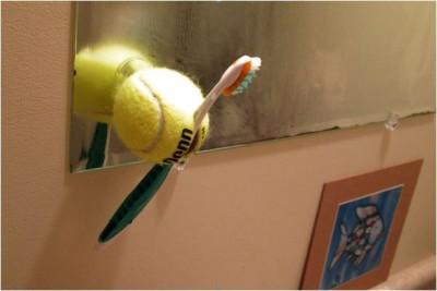 tennis-ball-toothbrush-holder