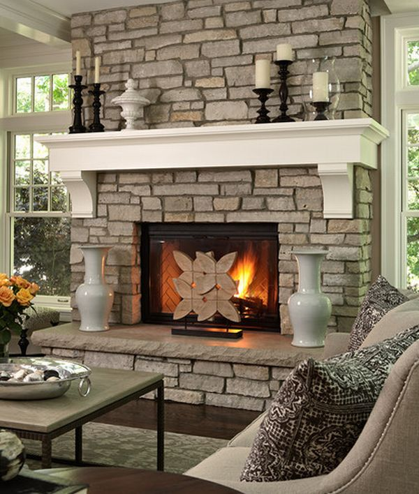 Beautiful fireplace offer an elevated look