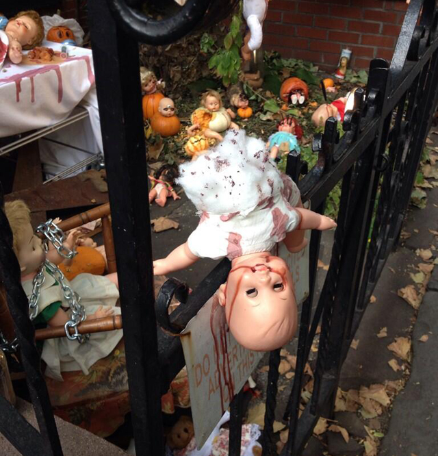 The Scariest Halloween Decorations