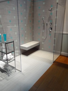 Accessible-barrier-free-tile-shower-with-a-bench-seat