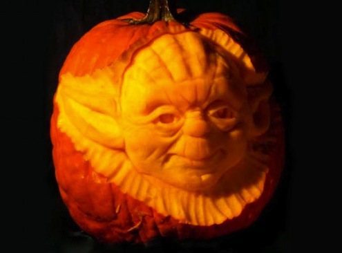 Image source; http://www.bobvila.com/articles/52-unexpected-and-amazing-ways-to-decorate-pumpkins/#.WBCR5C0rIdV