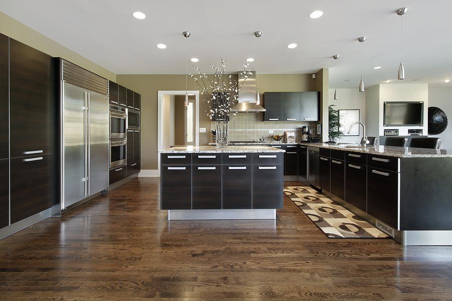 laminate floor kitchen