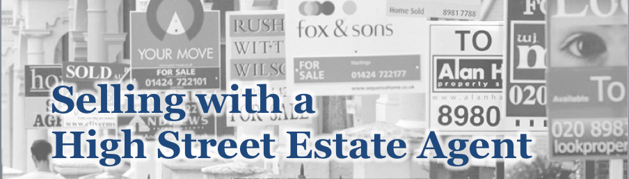 selling with high street estate agent