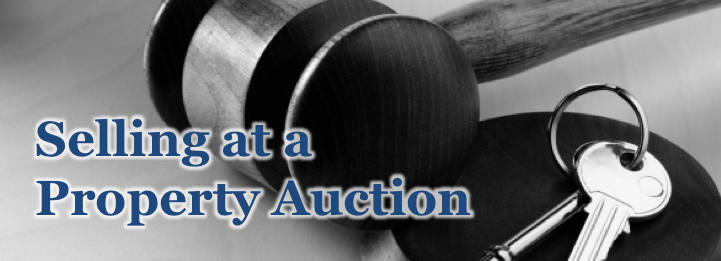 selling at property auction