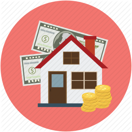 Image result for house with money clipart