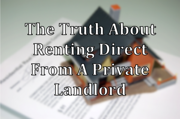 The Truth About Renting From Private Landlords | The House Shop Blog