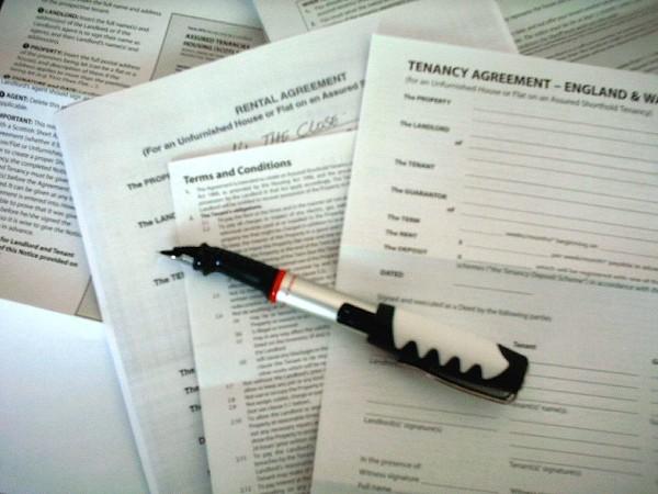 tenancy agreement image
