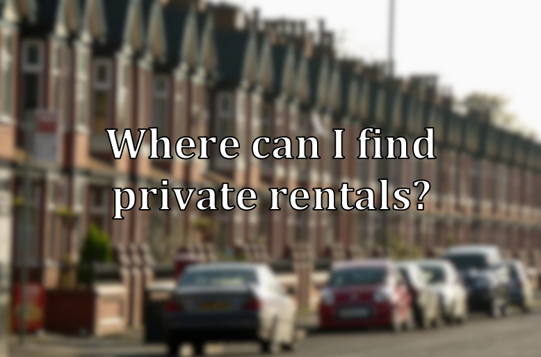 where can i find private rentals