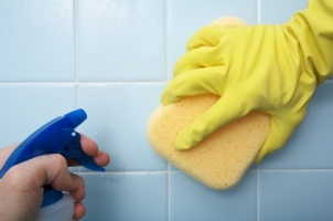 Top Household Cleaning Hacks The House Shop Blog - Best way to clean bathroom wall tiles