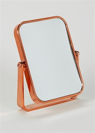 bathroom-copper-effect-rectangular-stand-mirror-18cm-x-13cm-