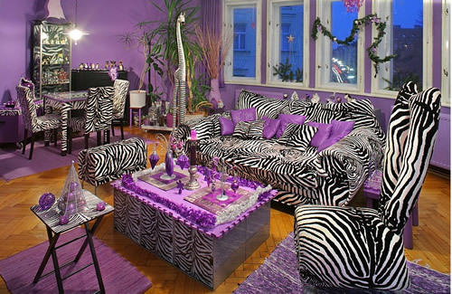 Purple-zebra