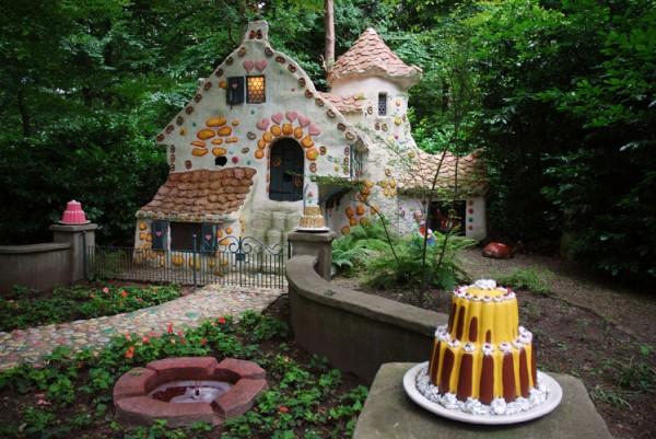 AER5GN fairy tale houses Efteling theme park Kaatsheuvel Netherlands