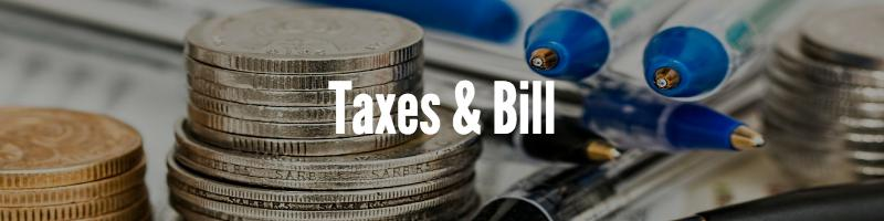 landlord taxes and bills