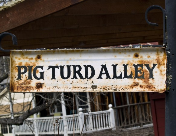 Pig Turd Alley
