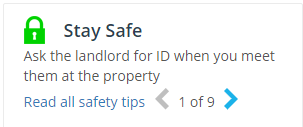 stay safe tips