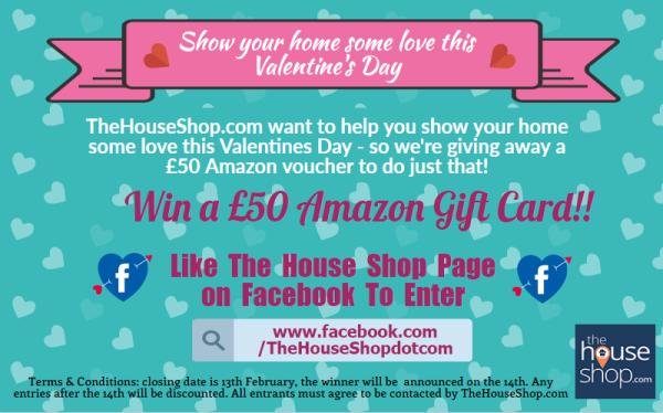 Amazon Voucher Valentine's Day Competition