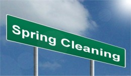 spring cleaning image