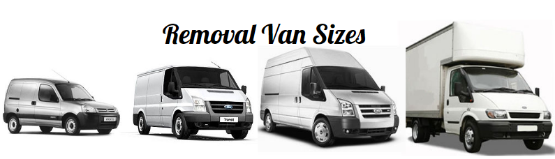 removal van sizes
