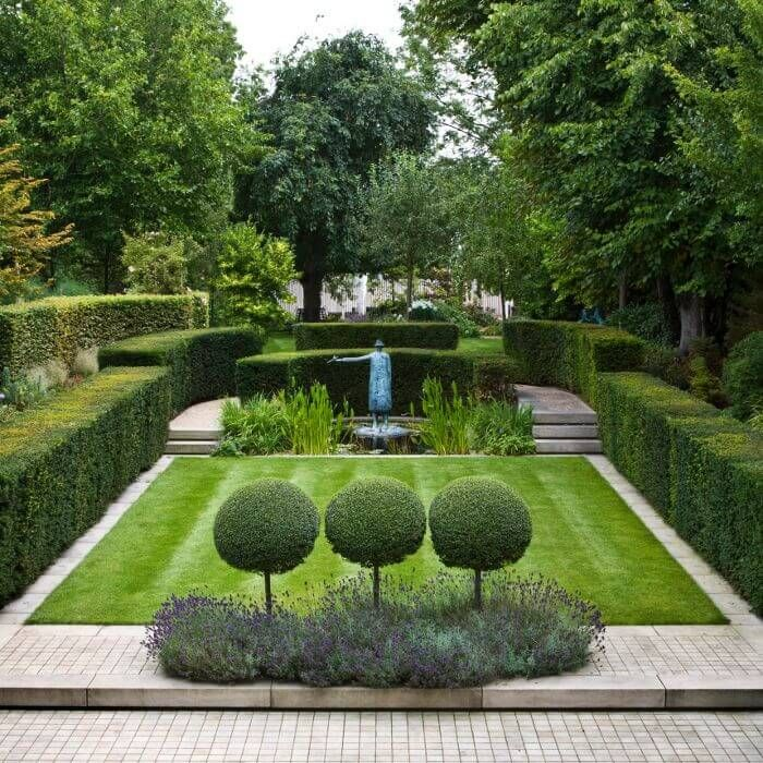 Attractive garden image