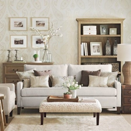 How To Create A Calm And Neutral Living Room The House Shop Blog