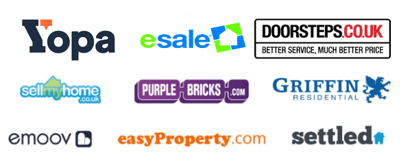 Top 10 Online Estate agents logos