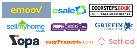 top 10 online estate agents logos