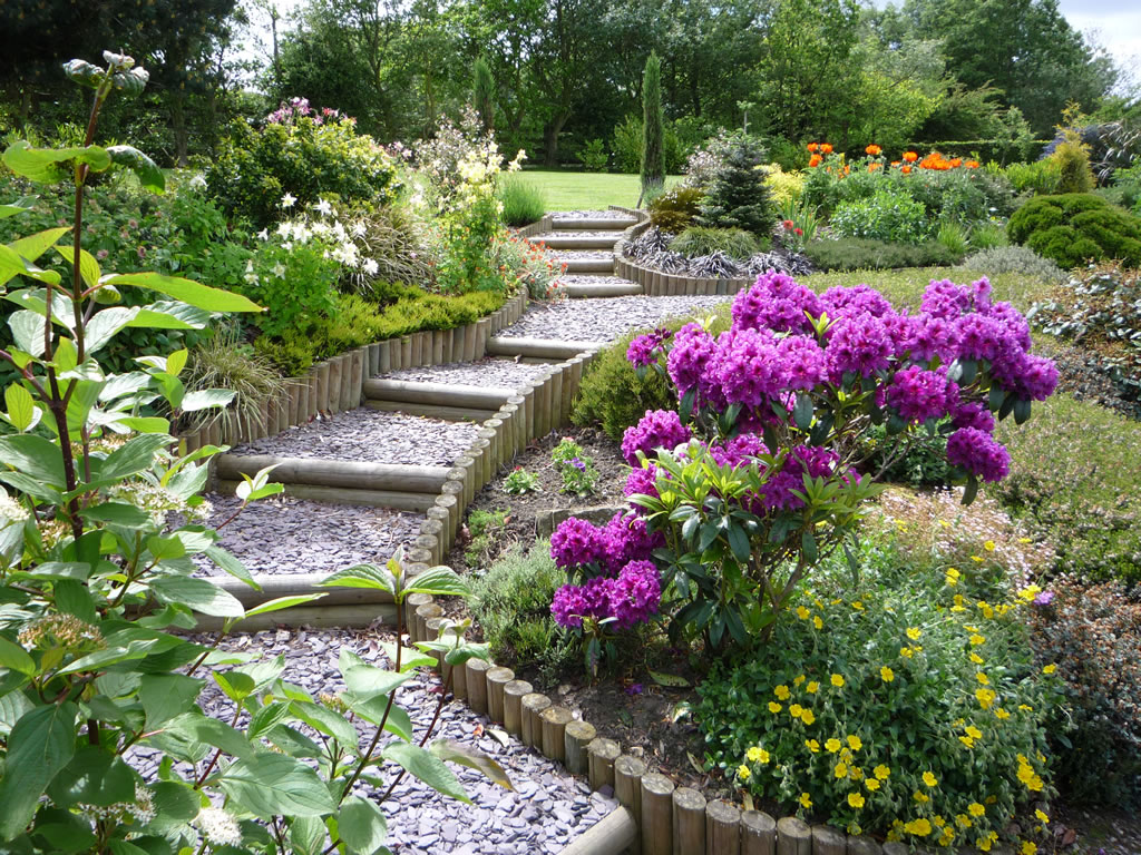 Using five landscape design principles to create a garden for Garden design blogs